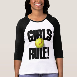 RÈGLE DE FILLES ! Le base-ball T-shirt