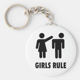 Règle de filles porte-clefs