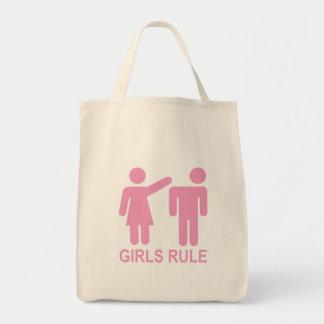 Règle de filles sac en toile