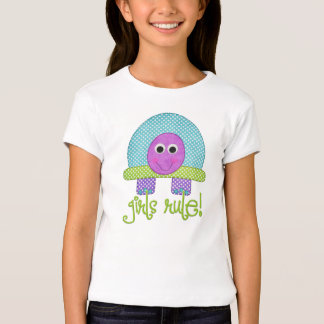 Règle de filles t-shirt