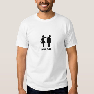 Règle de filles t-shirts
