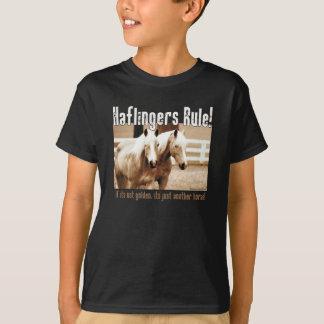 Règle de Haflingers T-shirt
