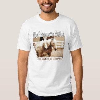 Règle de Haflingers T-shirts