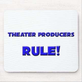Règle de producteurs de théâtre ! tapis de souris