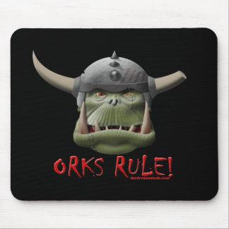 Règle d'Orks ! Tapis De Souris