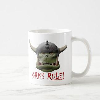 Règle d'Orks ! Tasse