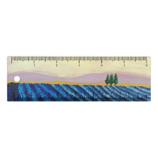 Règle Gisement de lavande (paysage français) - art de