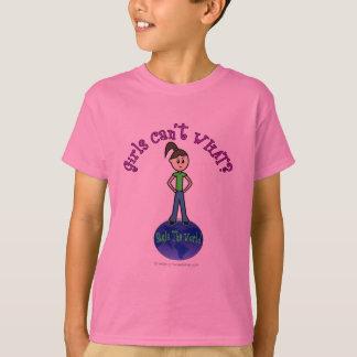 Règle légère la fille du monde t-shirt
