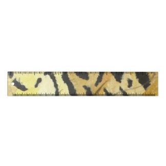 Règle Papeterie d'empreinte de léopard