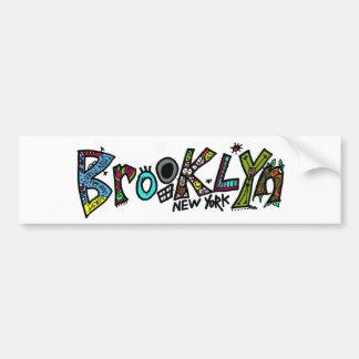 Règles de Brooklyn ! sur juste environ tout produi Autocollant Pour Voiture