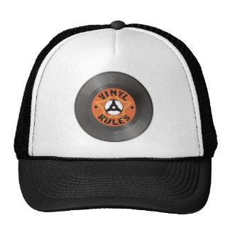 Règles de vinyle casquette