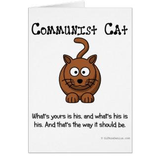 Règles du communisme carte de vœux