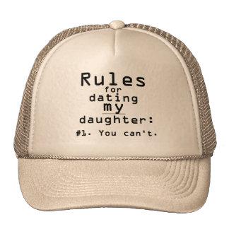 Règles pour dater ma fille casquette