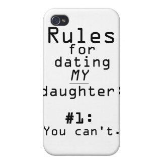 Règles pour dater ma fille coque iPhone 4 et 4S