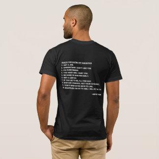 Règles pour dater mon T-shirt de fille pour des