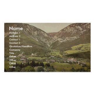 Reichenau, de Schweiger-Bauer, la Basse Autriche,  Cartes De Visite Personnelles