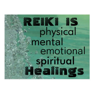 Reiki est des Healings Carte Postale
