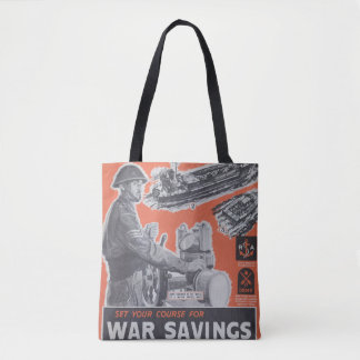 Réimpression d'affiche britannique de temps de tote bag