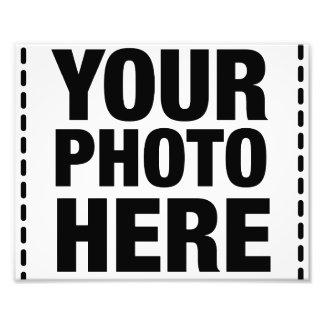 Réimpression de photo - 8x10 (paysage)