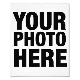 Réimpression de photo - 8x10 (portrait)
