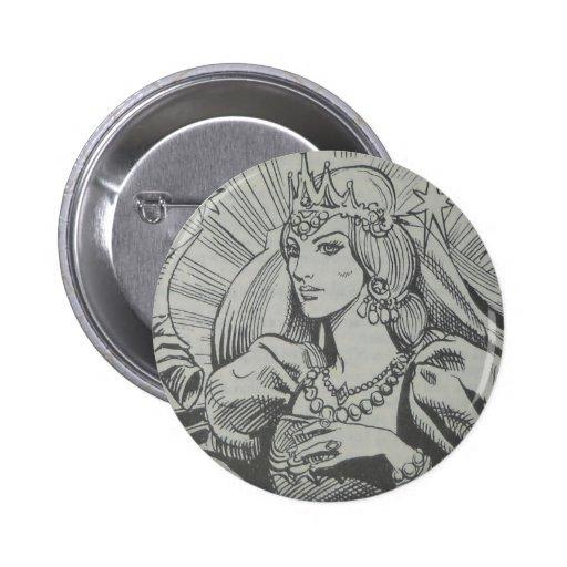 reine badges avec agrafe