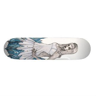 Reine de blanc de neige skateboards personnalisables