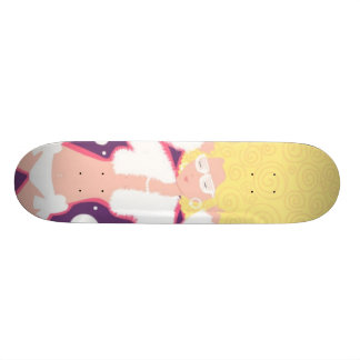 Reine de disco plateaux de skateboards