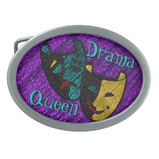 Reine de drame (boucle de ceinture personnalisée) boucles de ceinture ovales