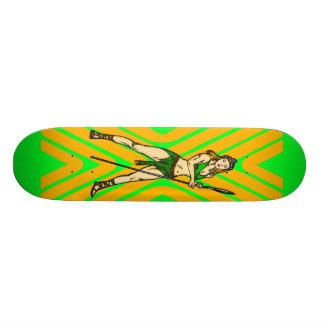 Reine de femmes d'Amazone Mini Skateboard 18,4 Cm