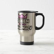 Reine de la pharmacie tasse à café