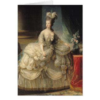 Reine de Marie Antoinette de la France, 1779 Carte De Vœux
