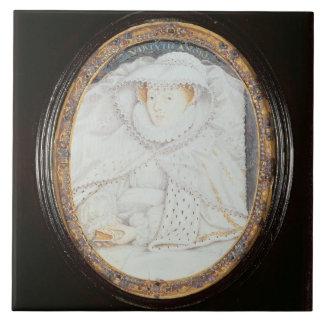 Reine de Mary des Ecossais (1542-87) en tant que v Grand Carreau Carré
