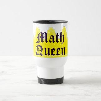 Reine de maths mug de voyage