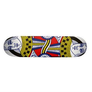 Reine de planche à roulettes de coeur plateaux de skateboards