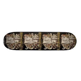 Reine de style de Carnivale de coeurs (version d'o Mini Skateboard 18,4 Cm