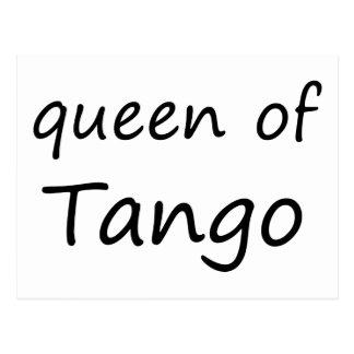 Reine de tango ! carte postale
