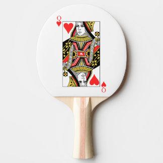 Reine des coeurs raquette tennis de table