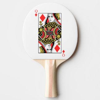 Reine des diamants raquette de ping pong