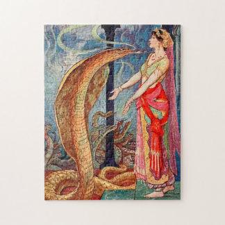 Reine des serpents puzzle