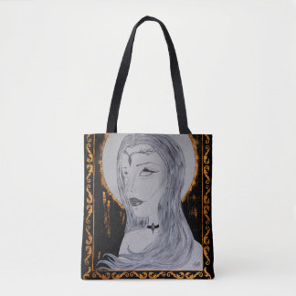 Reine d'or - art encré sac