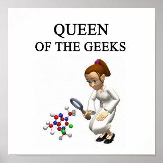 REINE du geeks Poster