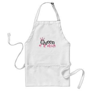 reine du tablier de cuisine