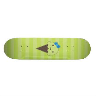 Reine glaciale skateboard