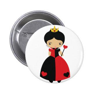 Reine mignonne de KRW des coeurs Badges
