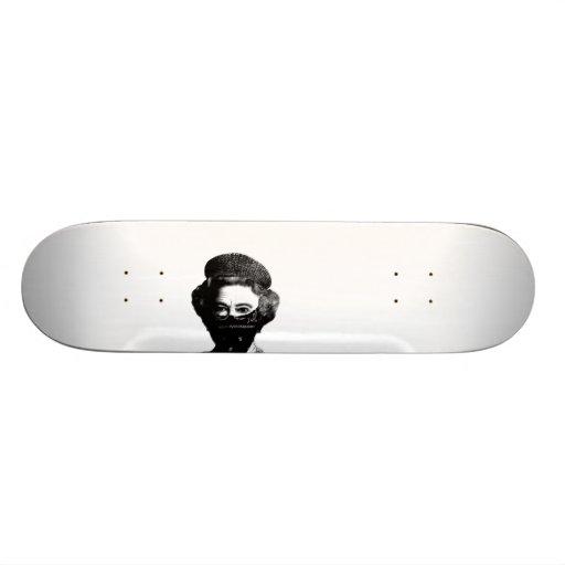 reine noire de bloc plateau de skate
