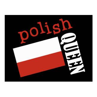 Reine polonaise carte postale