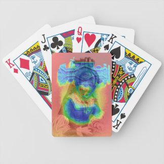 Reine psychédélique jeu de poker