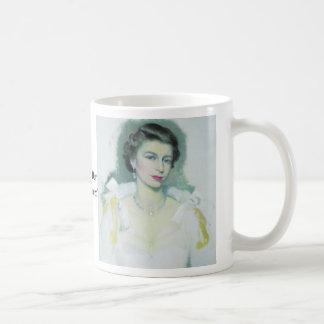 Reine, reine, économies de Dieu notre reine Mug