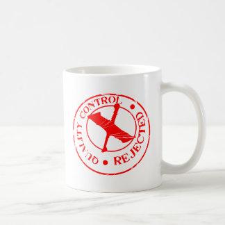 Rejet de contrôle de qualité mug