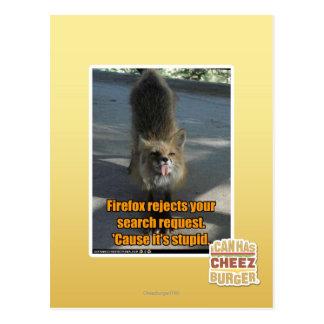 Rejets de Firefox Cartes Postales